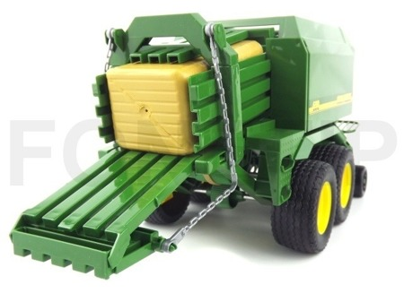 Bruder 02017 Prasa do słomy John Deere