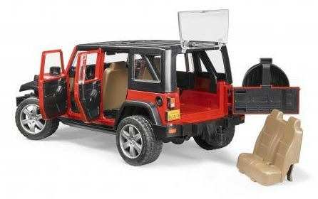 017cea00 Bruder 02525 Jeep Wrangler Unlimited Rubicon