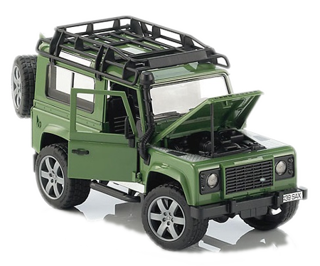 Bruder 02590 Land Rover Defender zielony
