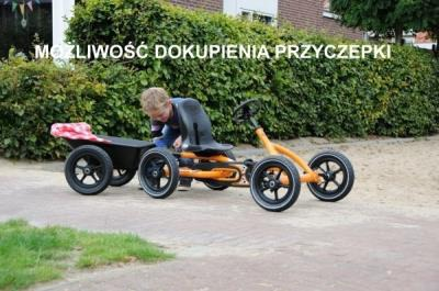 Gokart na pedały Buddy Orange BFR BERG