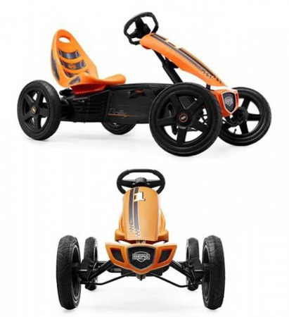 Gokart na pedały Rally Orange BFR BERG